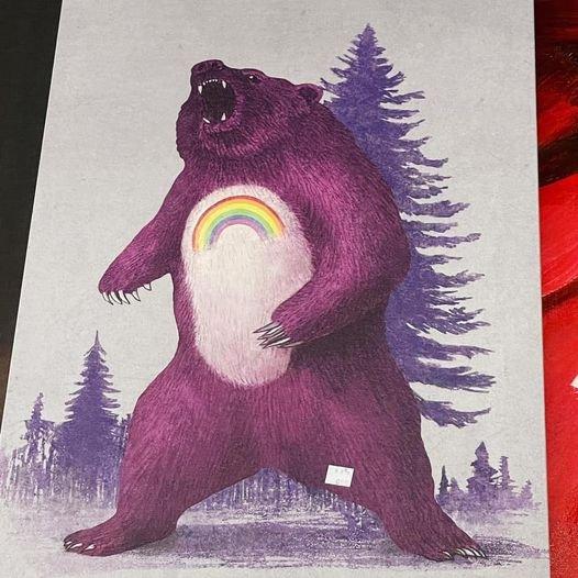 Радужный медведь