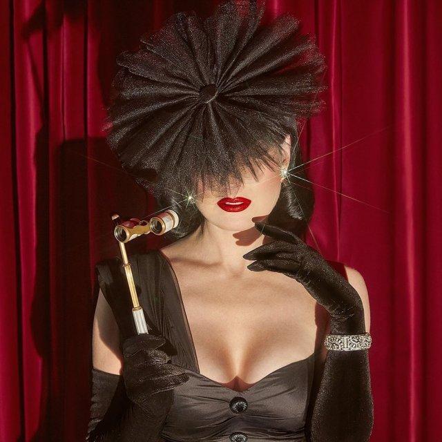 Дита фон Тиз - актриса, которая вывела понятие бурлеска на новый уровень