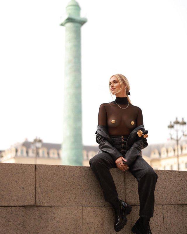 Алена Водонаева раскритиковала модного блоггера Кьяру Ферраньи, которая гуляет по Парижу