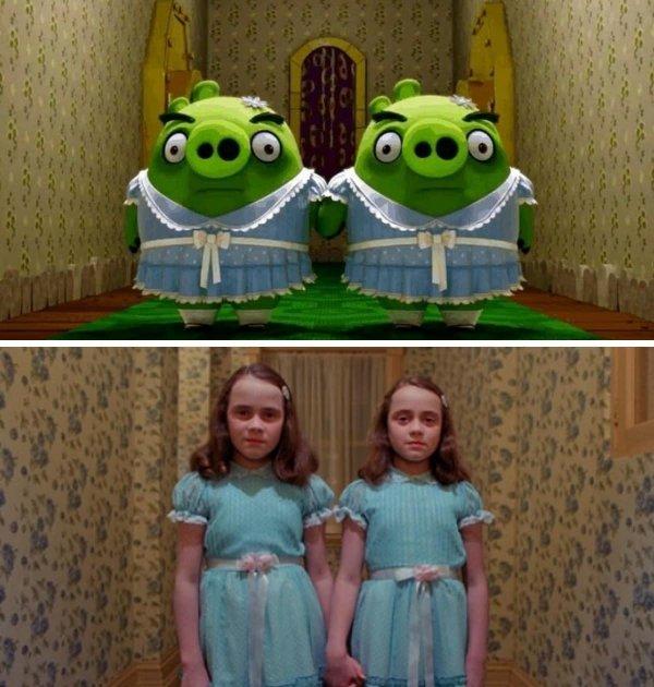 «Angry Birds в кино» и «Сияние»