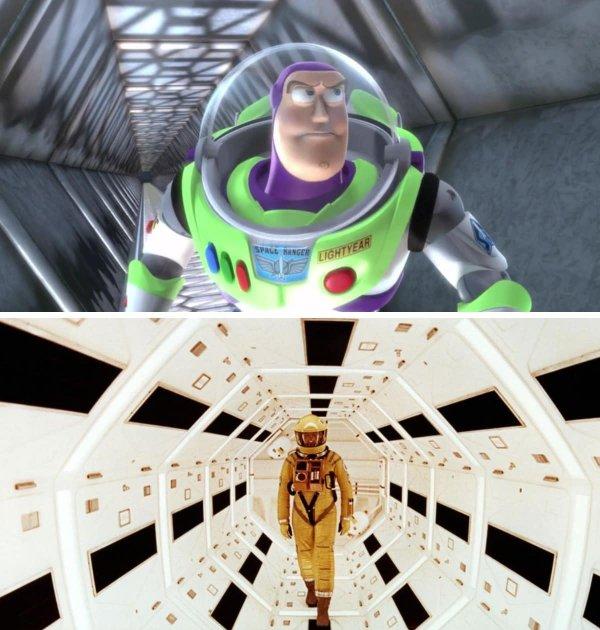 «История игрушек 2» и «Космическая одиссея 2001 года»