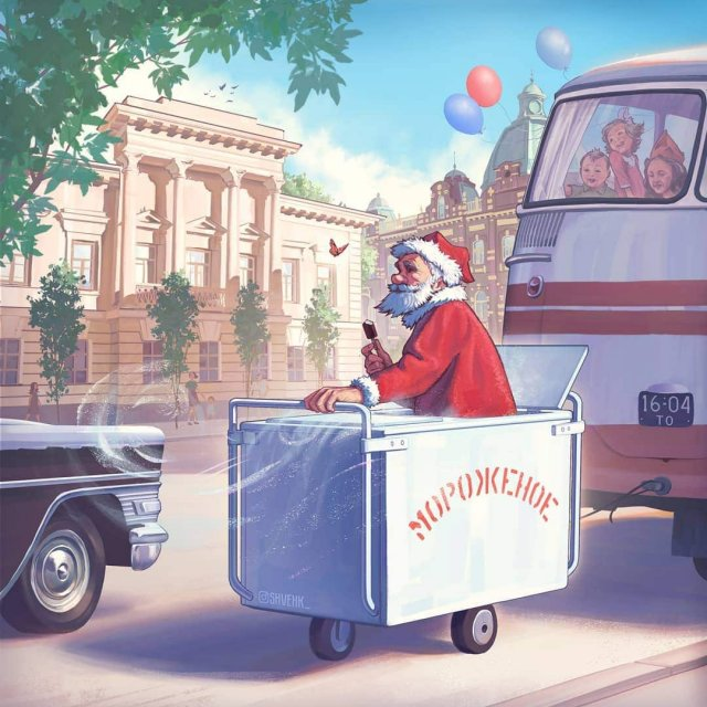 Дед Мороз из мультфильма «Дед Мороз и лето»