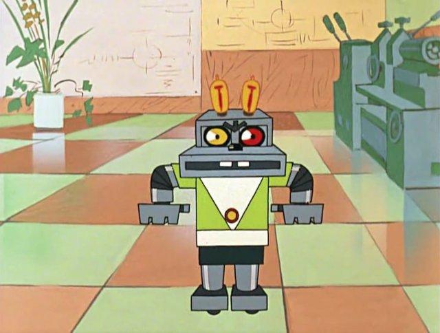 Робот из мультсериала «Ну, погоди!»
