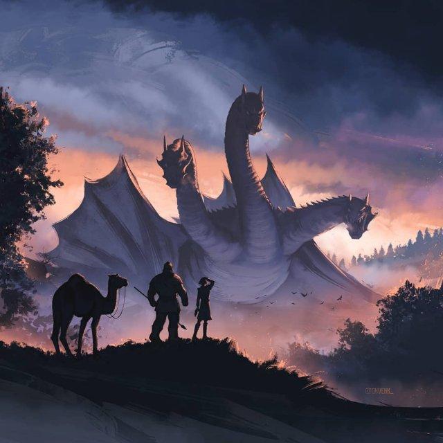 Змей Горыныч из мультфильма «Добрыня Никитич и Змей Горыныч»