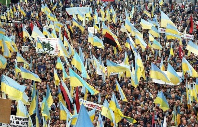 30 сентября 1990 года – митинг за выход Украины из состава СССР в Киеве