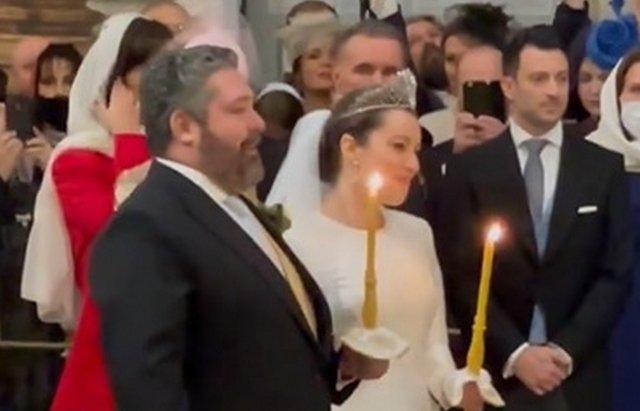 Первое за 120 лет венчание члена династии Романовых в Санкт-Петербурге
