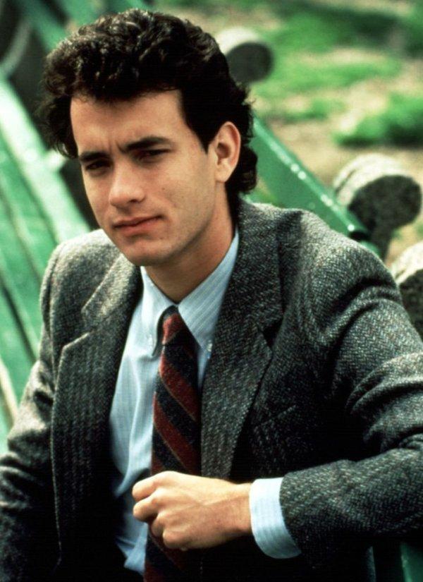 Том Хэнкс на съемках фильма «Всплеск» в 1984 году