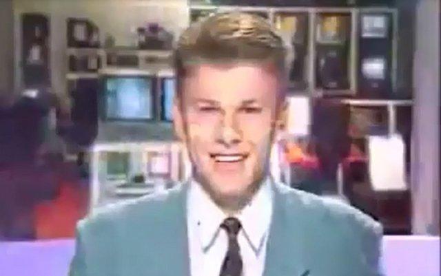 Первое появление Дмитрия Губерниева на телевидении