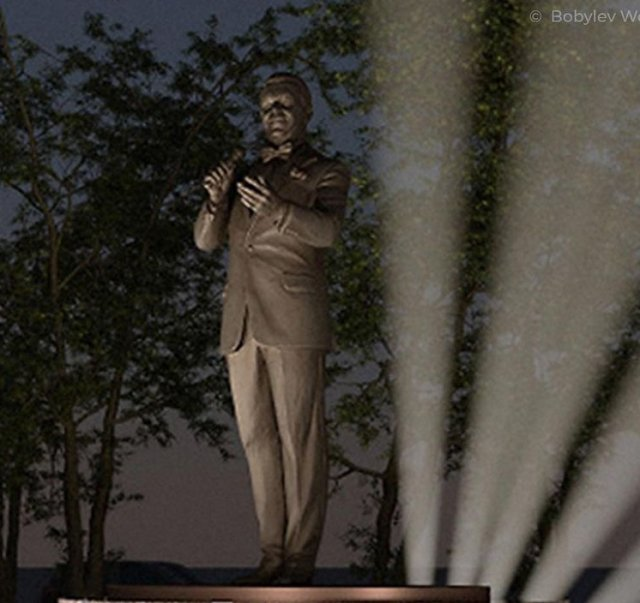 Как будет выглядеть памятник Иосифу Кобзону на Садовом кольце в Москве