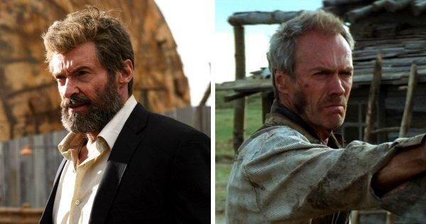 Логан из одноимённого фильма в исполнении Хью Джекмана — Клинт Иствуд