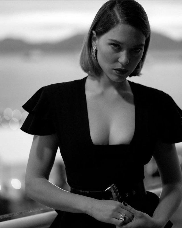"""Леа Сейду - девушка Джеймса Бонда из фильма """"Не время умирать"""""""