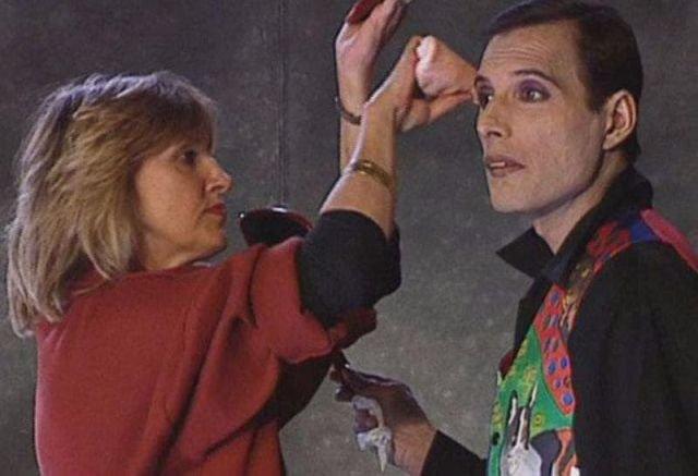 Фредди Меркьюри перед своей последней видеосъемкой, октябрь 1991 года.