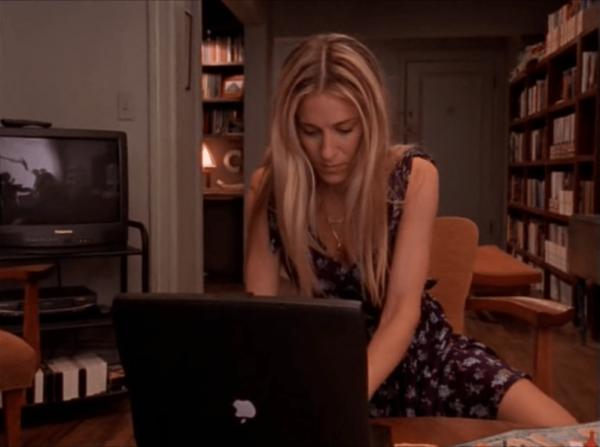 В сериале «Секс в большом городе» на экране телевизора отразилась съёмочная группа