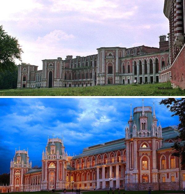 Большой Дворец в Царицыно, Москва