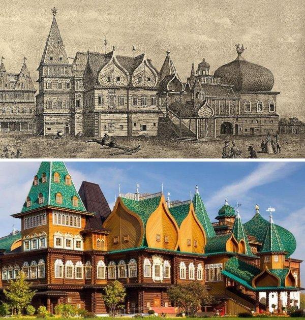 Царский дворец в Коломенском, Москва