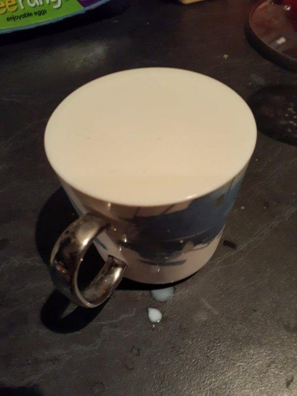 Эта чашка кажется пустой