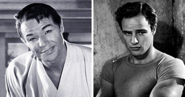 Марлон Брандо в фильме «Чайная церемония» (1956)