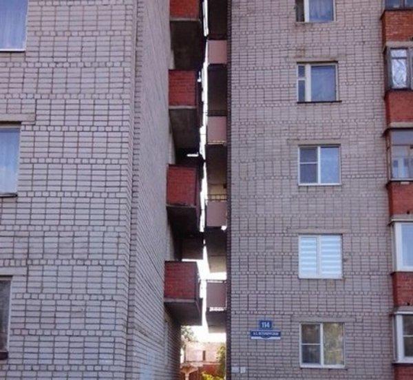 Хороший вид с балкона