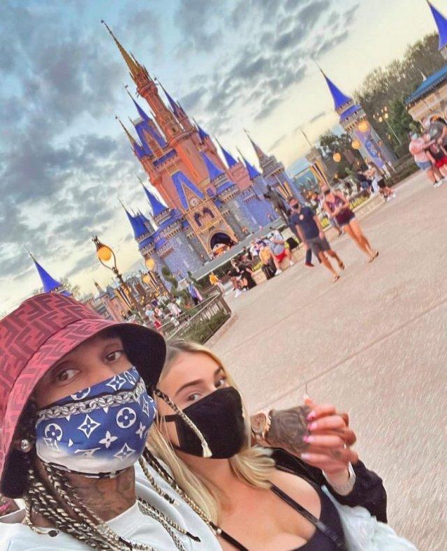 Рэпер Tyga избил свою новую девушку Camaryn Swanson