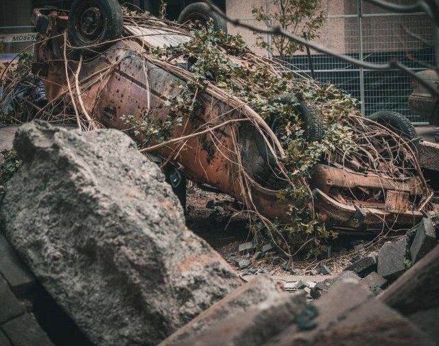Атмосферные кадры со съемок проекта The Last of Us
