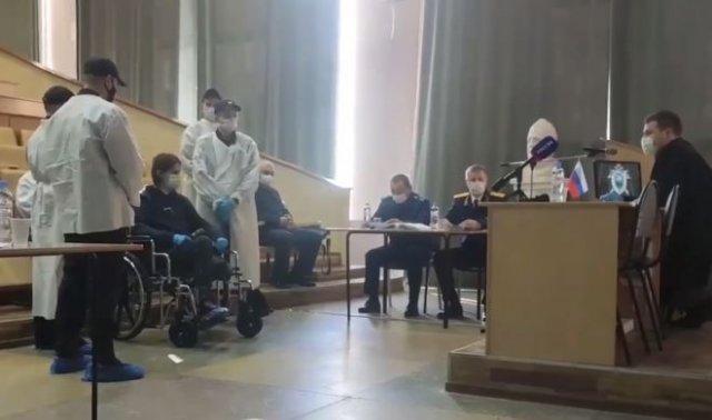 Для Тимура Бекмансурова устроили выездное заседание суда в актовом зале больницы
