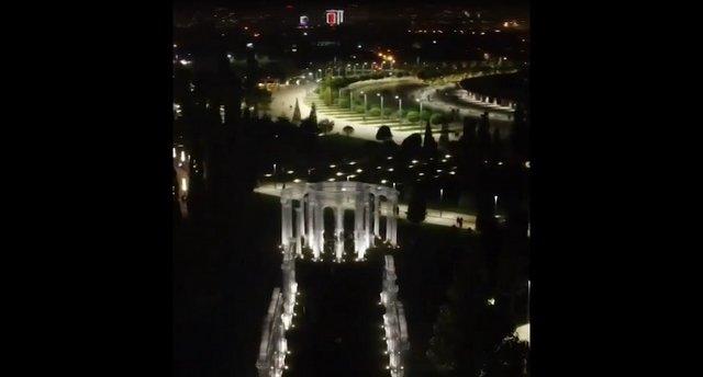 В Краснодаре появился город с призрачными колоннами