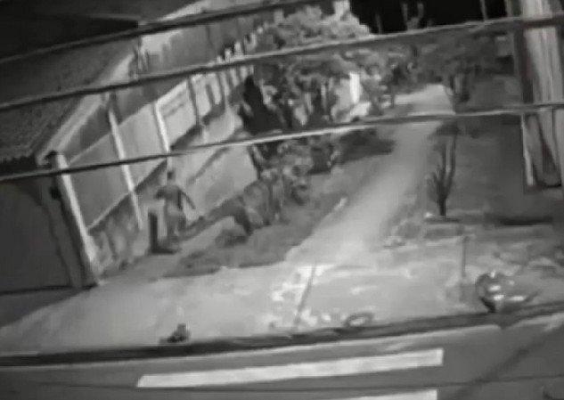 Обычный вечер в Бразилии, в котором все куда-то бегут: мужчины, животные и полицейские