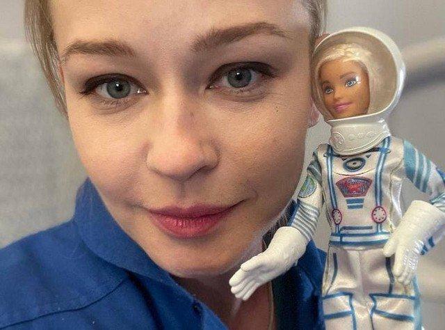 Юлия Пересильд и Клим Шипенко вернулись на Землю из космоса