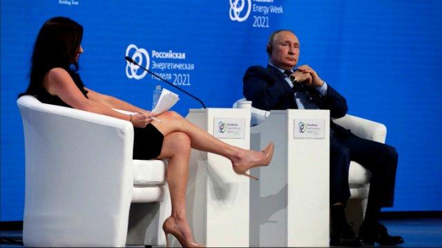 Хэдли Гэмбл - журналистка с длинными ногами, которую высмеял Владимир Путин
