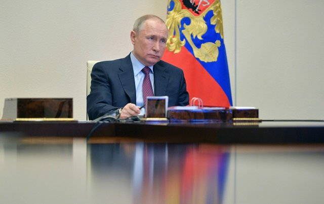 Срочное совещание Владимира Путина по коронавирусу и выходным с 30 октября по 7 ноября: онлайн