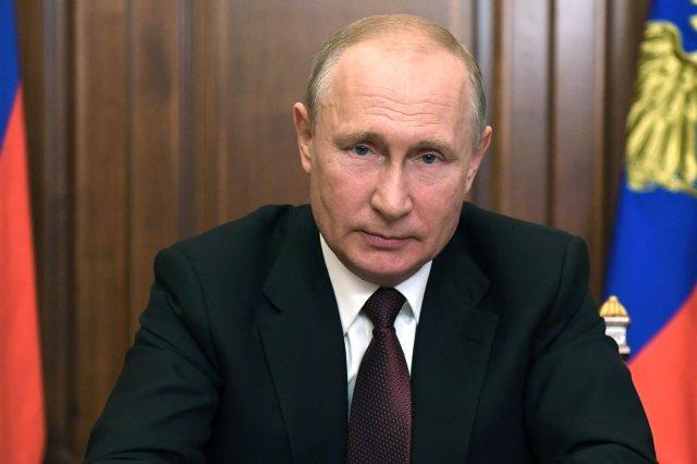 Путин объявил нерабочими днями неделю с 30 по 7 ноября включительно