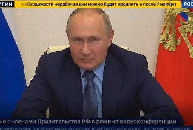 Владимир Путин рассказал, что друзья не последовали его примеру, и не пошли вакцинироваться