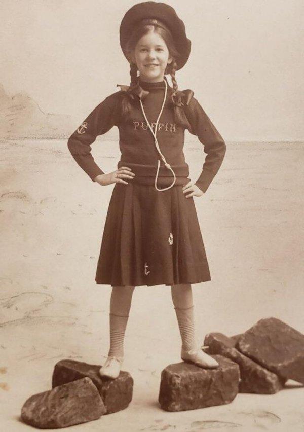 «Моя прабабушка в начале 1900-х. Она выглядит так круто»