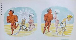 Карикатура во мужском журнале Playboy (2 фото)