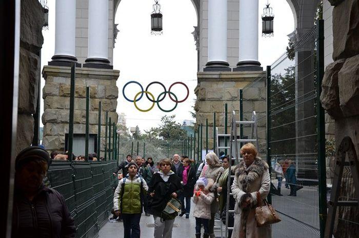 Символ Олимпиады 2014 в Сочи - Забор! (12 фото)