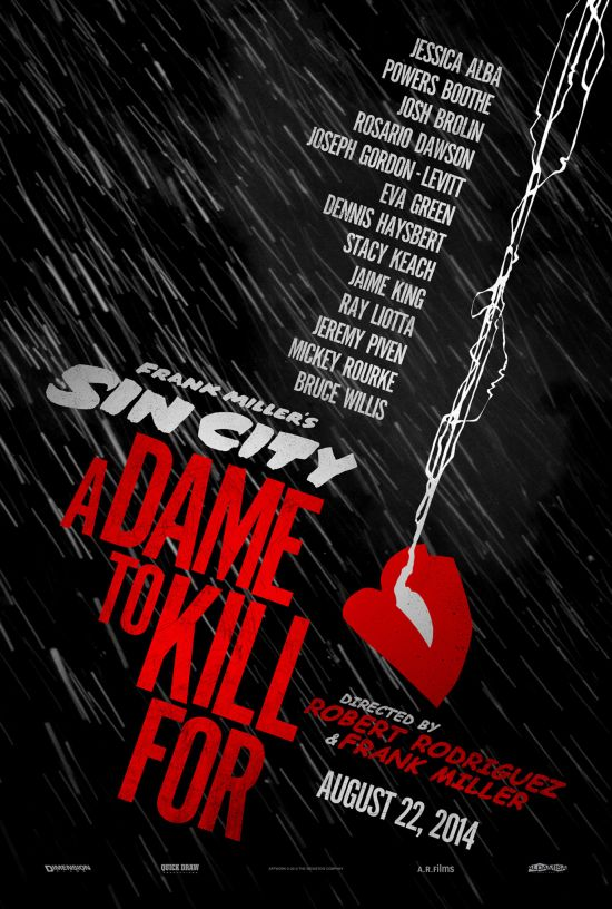Город грехов 2 / Sin City 2: A Dame To Kill For (2014)