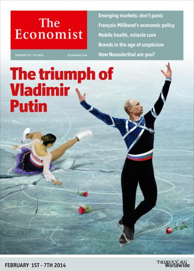 """Олимпийская обложка журнала """"The Economist"""""""