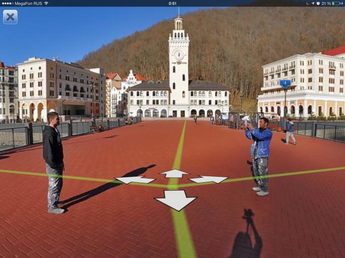 Яндекс панорамы на олимпийских объектах