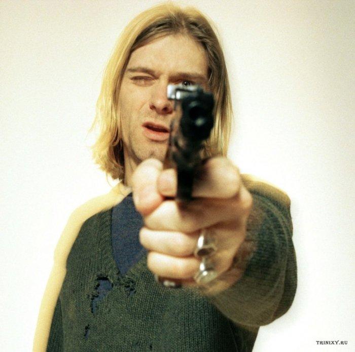 Курт Кобейн - лучший стрелок из гладкоствольного оружия