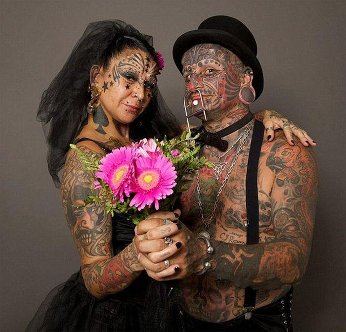 свадебные прически самые нелепые пары мира фото физику