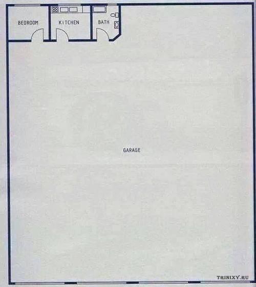 Квартира настоящего мужика