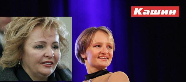 Дочь Путина - Катерина Тихонова (8 фото + видео)