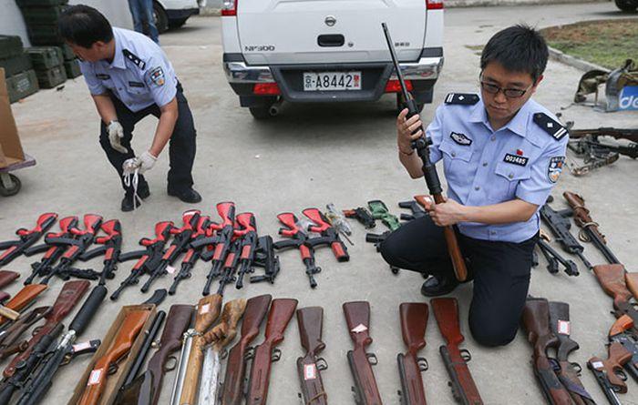 Преступления, карающиеся расстрелом в Китае (6 фото + текст)