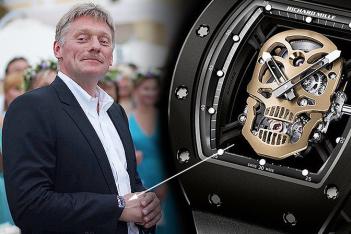 Что можно было бы сделать, продав часы политиков (6 фото)