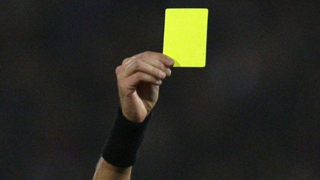 Зеленая карточка - интересное футбольное новшество