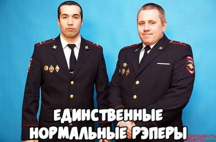 Полицейский рэп-дуэт «Дорожный PROсвет» (3 фото + видео)