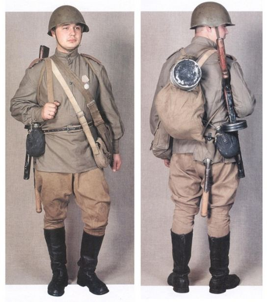 Экипировка советских солдат в Великую Отечественную войну (13 фото)