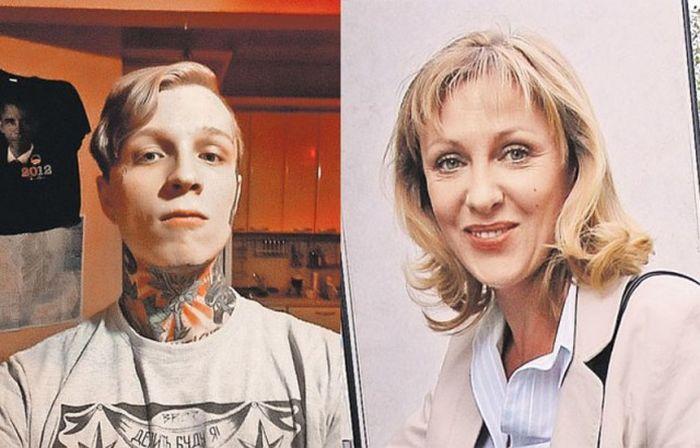Денис Шальных - сын актрисы Елены Яковлевой (9 фото)