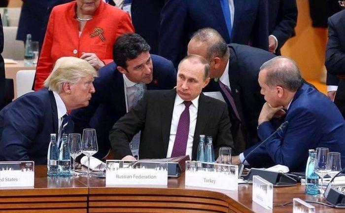 Фото с Путиным в окружении лидеров других стран на саммите G20 оказалось фейком (2 фото)
