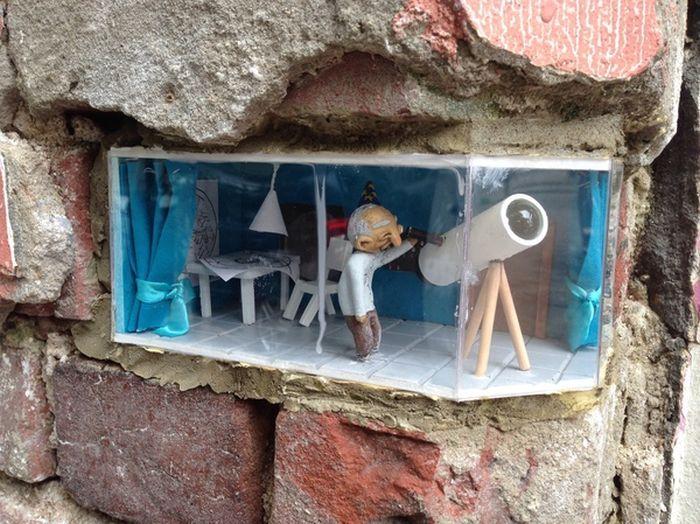 В Нижнем Новгороде исчезла новая арт-инсталляция (2 фото)